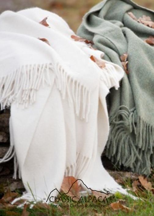 Alpaca Solid Blanket | Classic Alpaca Peru