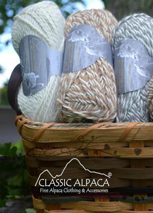Eco Alpaca Yarn
