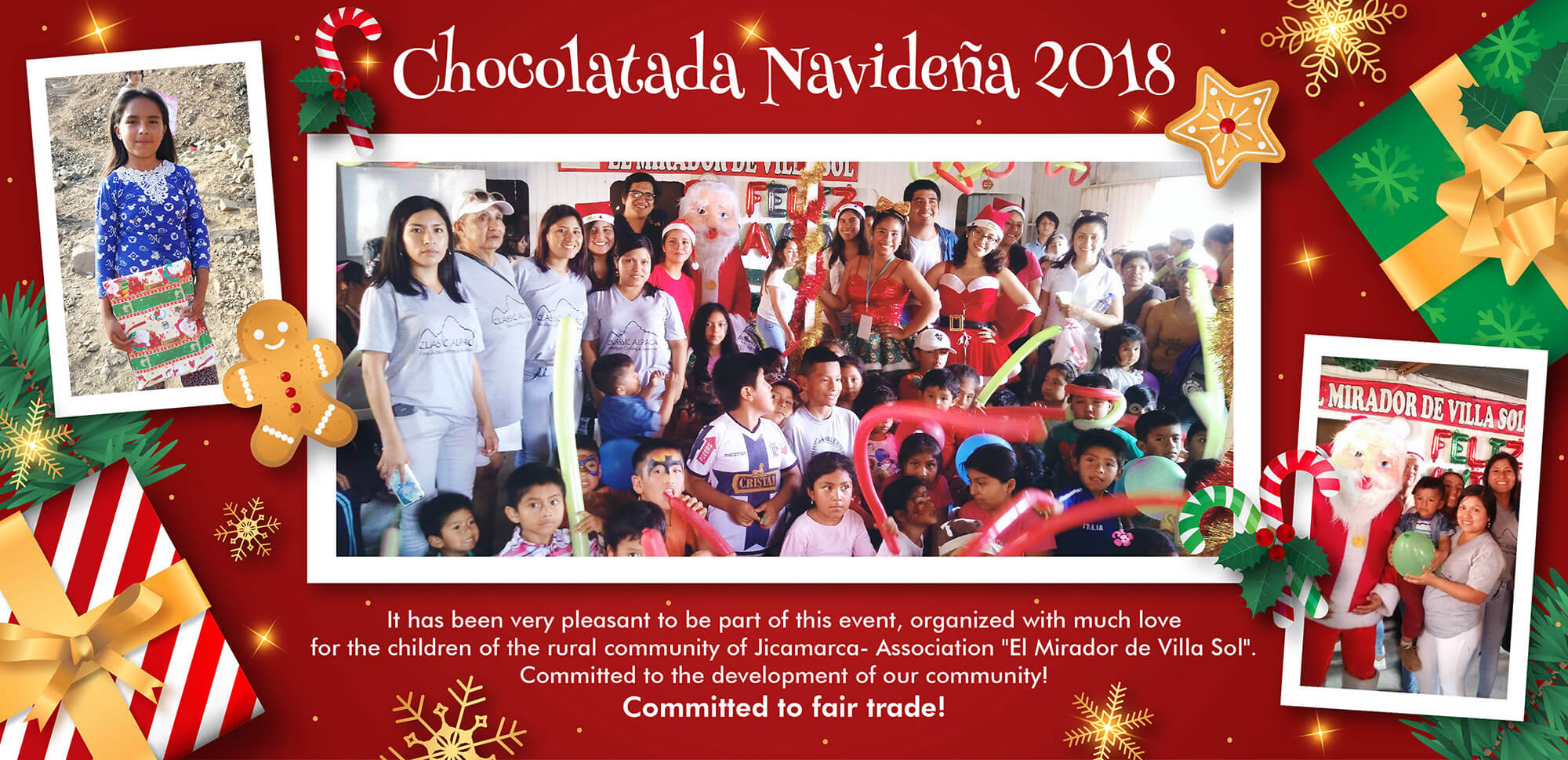 Christmas Chocolate - Classic Alpaca Peru